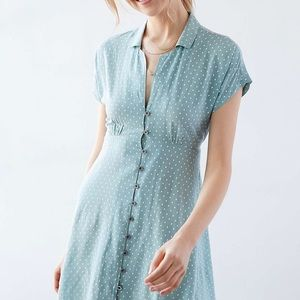 Kimchi Blue Vintage Inspired Polka Dot Dress